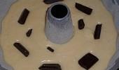 Tvarohovo-pudinková bábovka s čokoládou