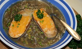 Anglická cibulová polévka