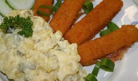 Bramborový salát bez zeleniny