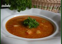 Celerová polévka jednoduchá