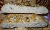 Česnekové chlebové placky