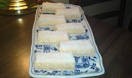 Čistě kokosové řezy