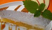 Jablečný dortík se skořicovou pěnou - nepečený