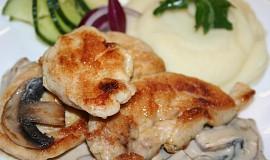 Kuře v sýrovém kabátku