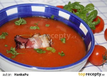 Polévka z červených paprik
