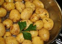Rozmarýnové brambory