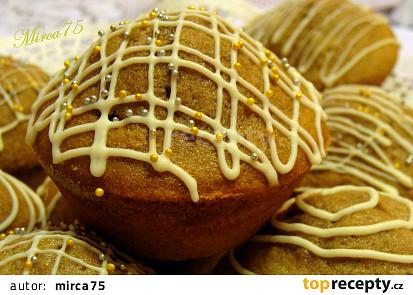 Banánové muffiny