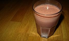 Čokoládovo jahodový smoothie