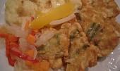 Fazolky v sýrovém těstíčku