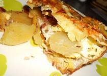 Francouzské brambory sypané sýrem