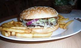 Homemade hamburger\'s