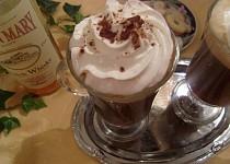 Horká káva s whisky