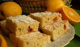 Jablkový koláč litý na plech