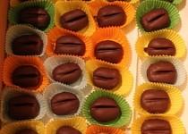 Kávová zrna(piškotová)
