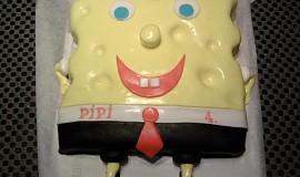 Postavička z pohádky-spongebob