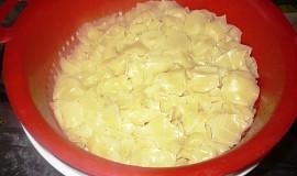 Těstoviny vařené v mikrovlnce