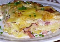 Zapečené brambory s Hermelínem