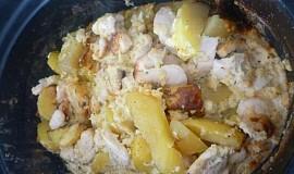 Zapečené brambory v pomalém hrnci