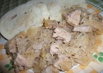 Maso pečené v zelí