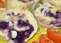 Plněné bramborové knedlíčky