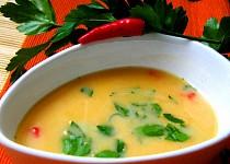 Polévka ze sladkých brambor  / batátů /s kokosovým mlékem