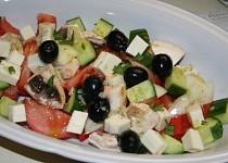 Salát s olivami