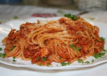 Špagety s tuňákem ...