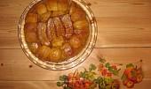 Tarte tatin (obrácený jablkový koláč)