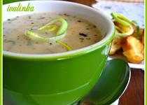 Celerová polévka s mlékem