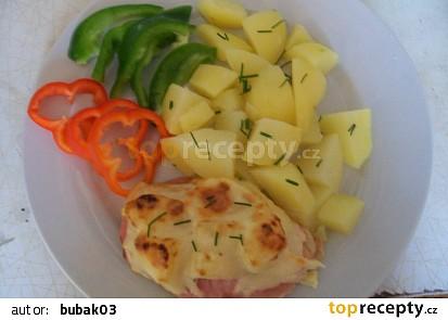 Kuřecí řízky s ananasem