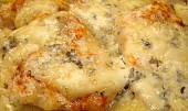 Kuřecí řízky s nivou a mozzarellou