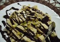 Rozmačkané banány s čokoládou
