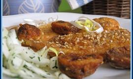 Sezamová kuřecí prsíčka