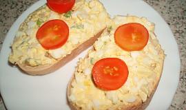 Snadná vaječná pomazánka