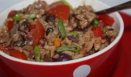 Sójové maso se zeleninou