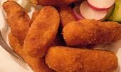 Vyprážané halušky zo zemiakového cesta