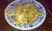 Bylinkové file zahrabané v bramborách