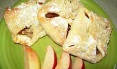Jablečné šátečky s drobenkou - s návodem pro začátečníky