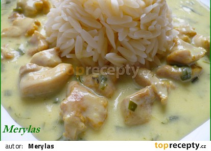 S těstovinovou rýží.