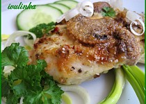 Kuřecí prsa s majonézovou krustou