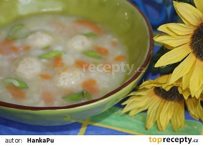 Květáková polévka s knedlíčky