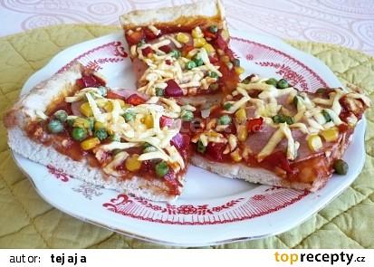 Kynuté těsto na pizzu