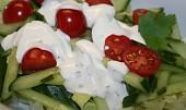 Lehký a rychlý zeleninový salát