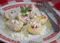 Rychlé tvarohové knedlíky ovocné