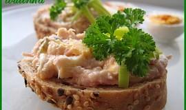 Sýrová pomazánka s uzeným masem