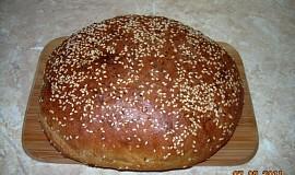 Tmavý  dietní chleba