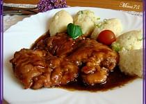 Medová kuřecí prsa