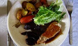 Pečená přílohová zelenina