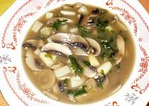 Polévka z houbiček