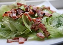 Hlávkový salát s nálevem